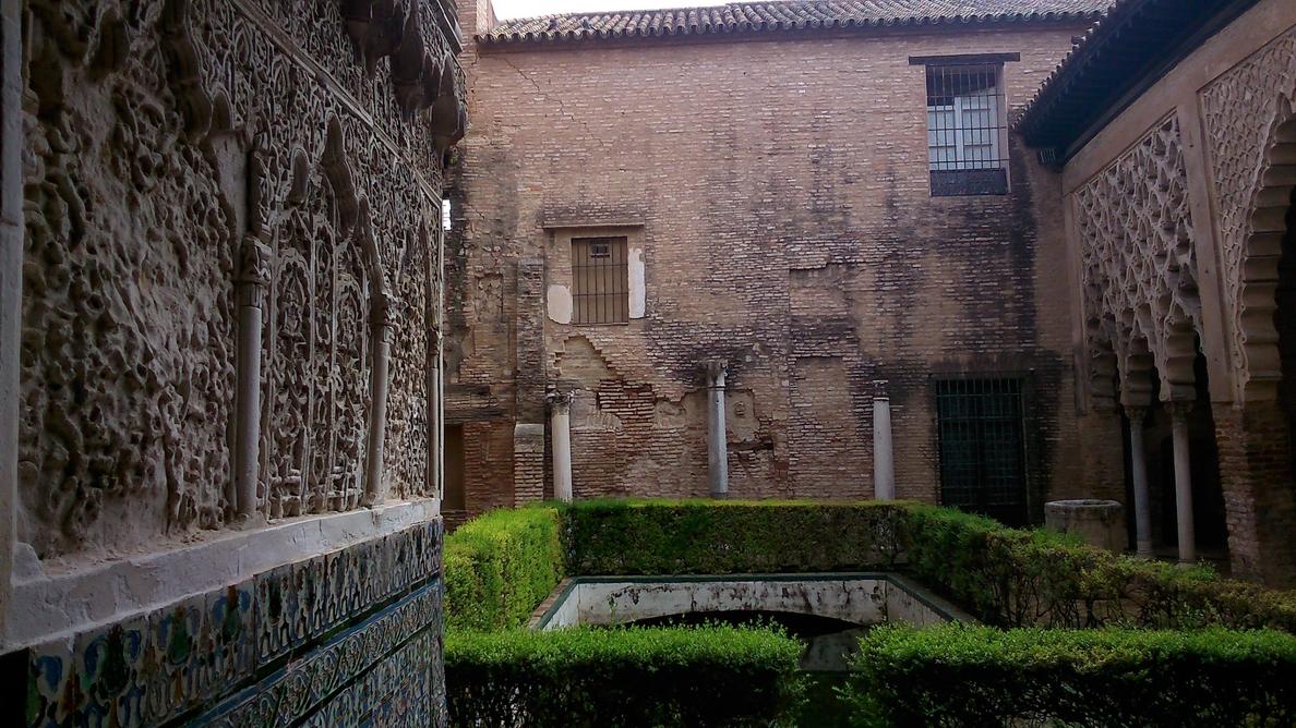 El Alcázar acoge los preparativos del rodaje de Juego de Tronos pero la grabación empieza el viernes