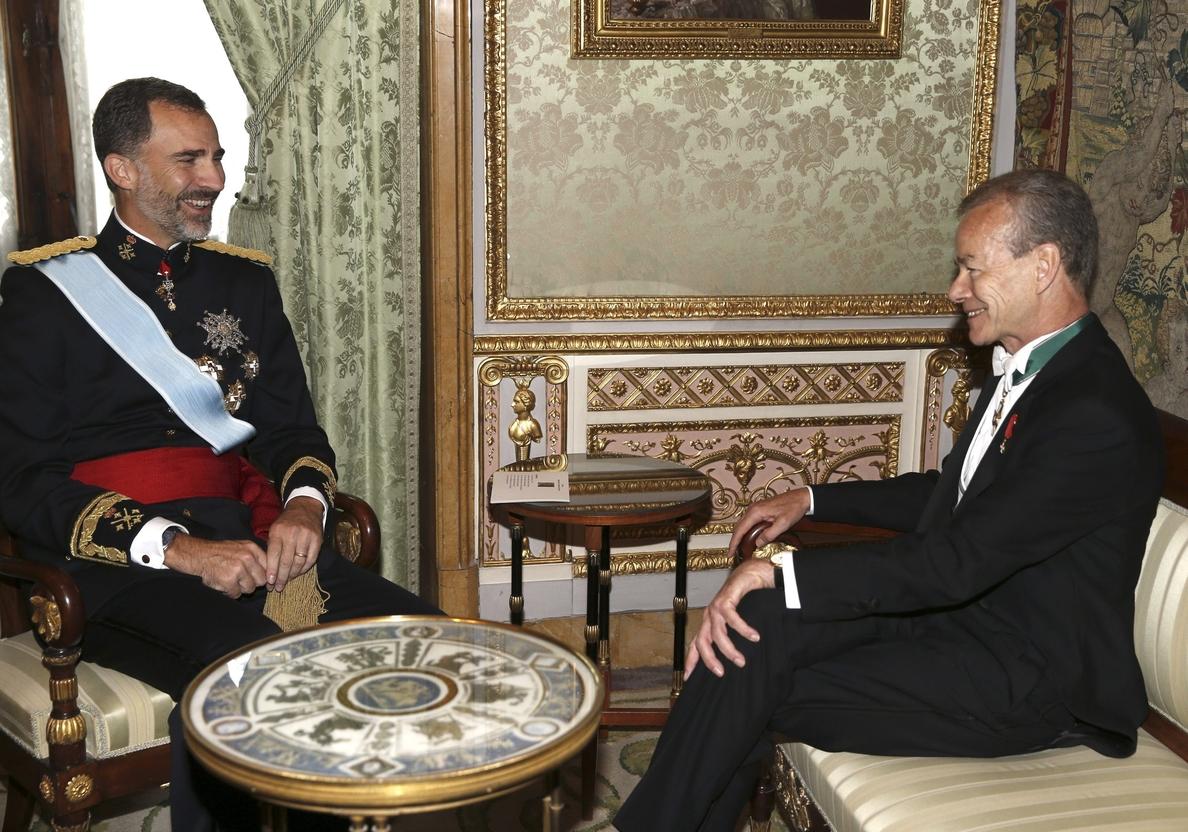 El Rey acredita a los nuevos embajadores de Bélgica, Armenia, Estonia, India y Japón