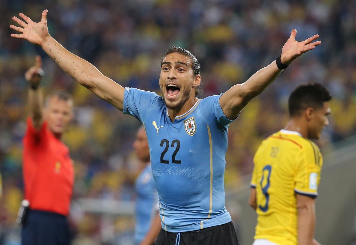 Cáceres, baja en la selección uruguaya para los partidos en Arabia Saudí y Omán
