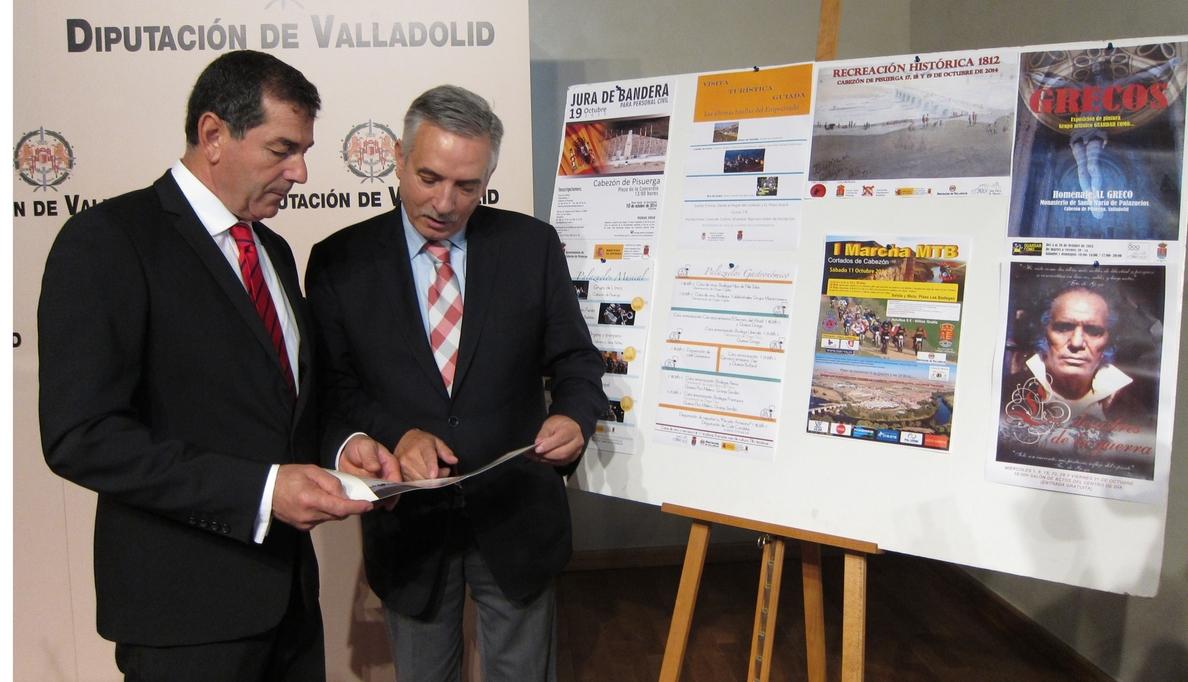 Conferencias, proyecciones y recreaciones conmemoran dos siglos de la Guerra de la Independencia en Cabezón (Valladolid)
