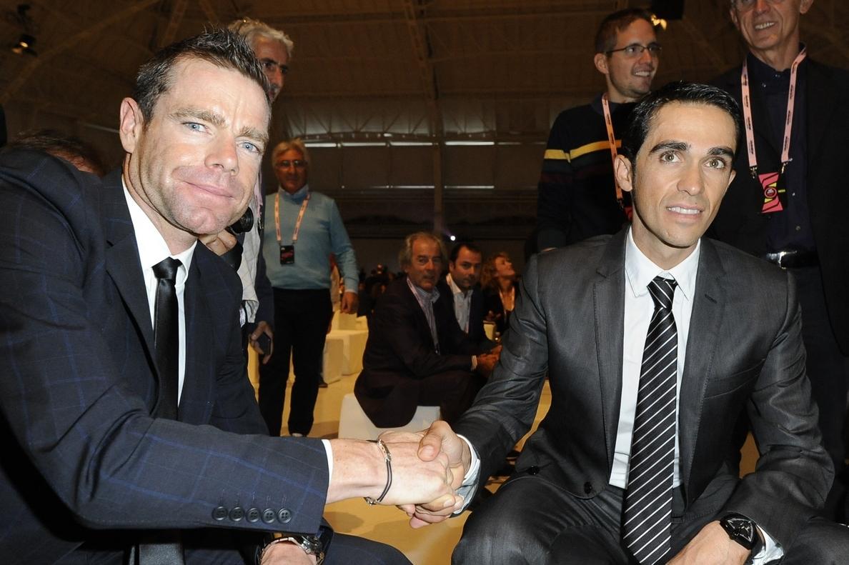 Contador: «Es un Giro tal vez algo menos duro que en otras ocasiones»