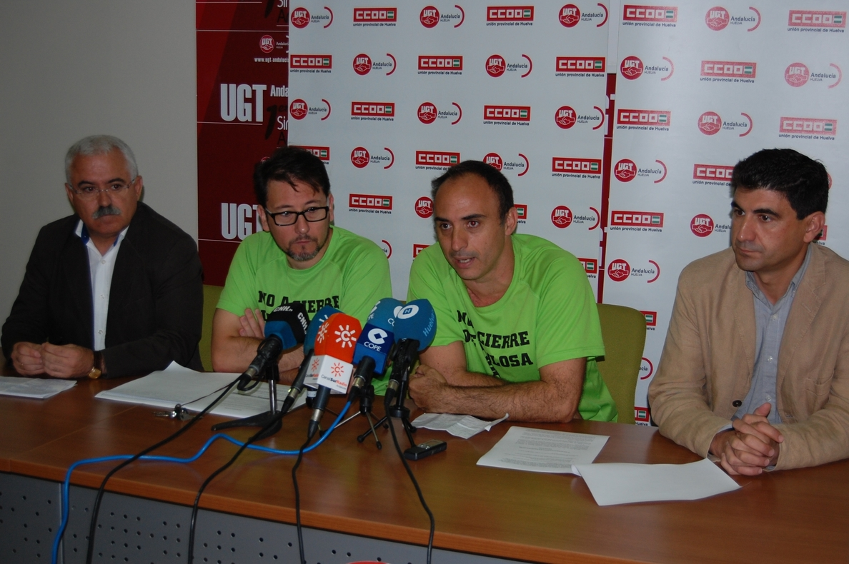 Convocan huelga indefinida en la planta de Ence Huelva y de 4 días en las de Madrid, Asturias y Pontevedra
