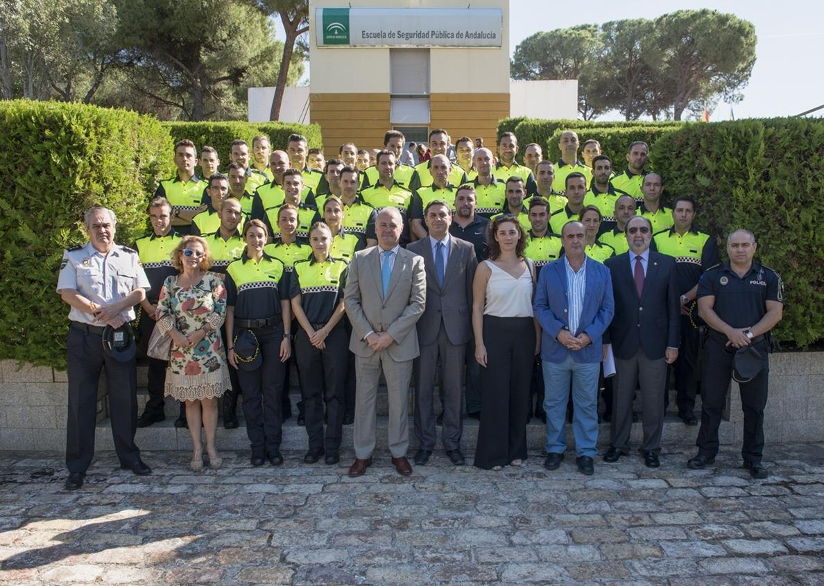 Un total de 41 agentes realizan en la ESPA el XL Curso de Ingreso en los Cuerpos de Policía Local de Andalucía