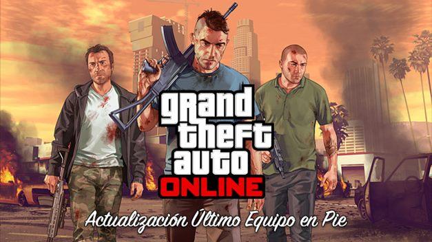 GTA Online recibe la actualización »Último Equipo en Pie»