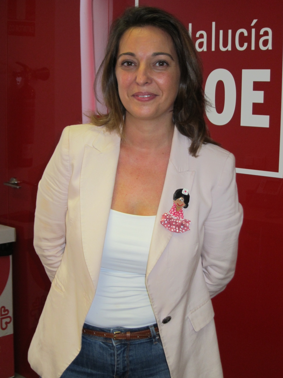 Isabel Ambrosio presenta 401 avales, el 57% del censo, para ser candidata del PSOE a la Alcaldía de Córdoba