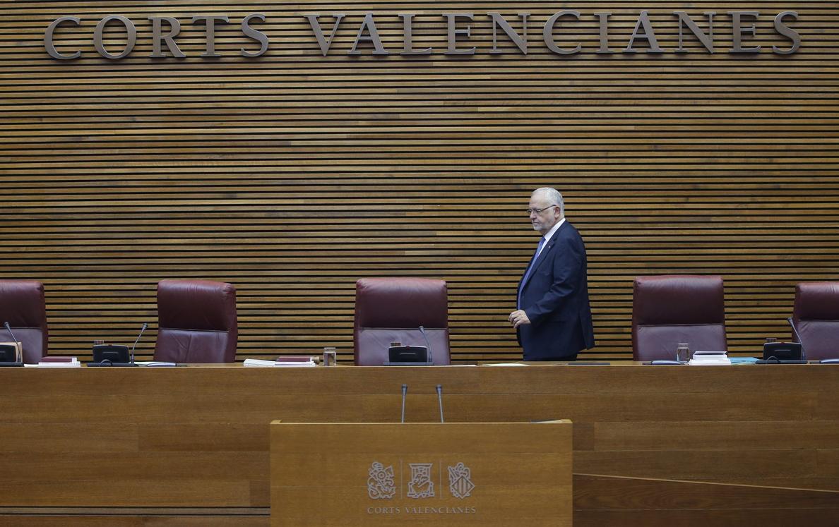 Juan Cotino dejará «en breve» la presidencia de Les Corts Valencianes