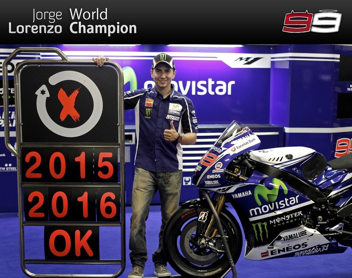Lorenzo: «Espero quedarme en Yamaha toda mi carrera»