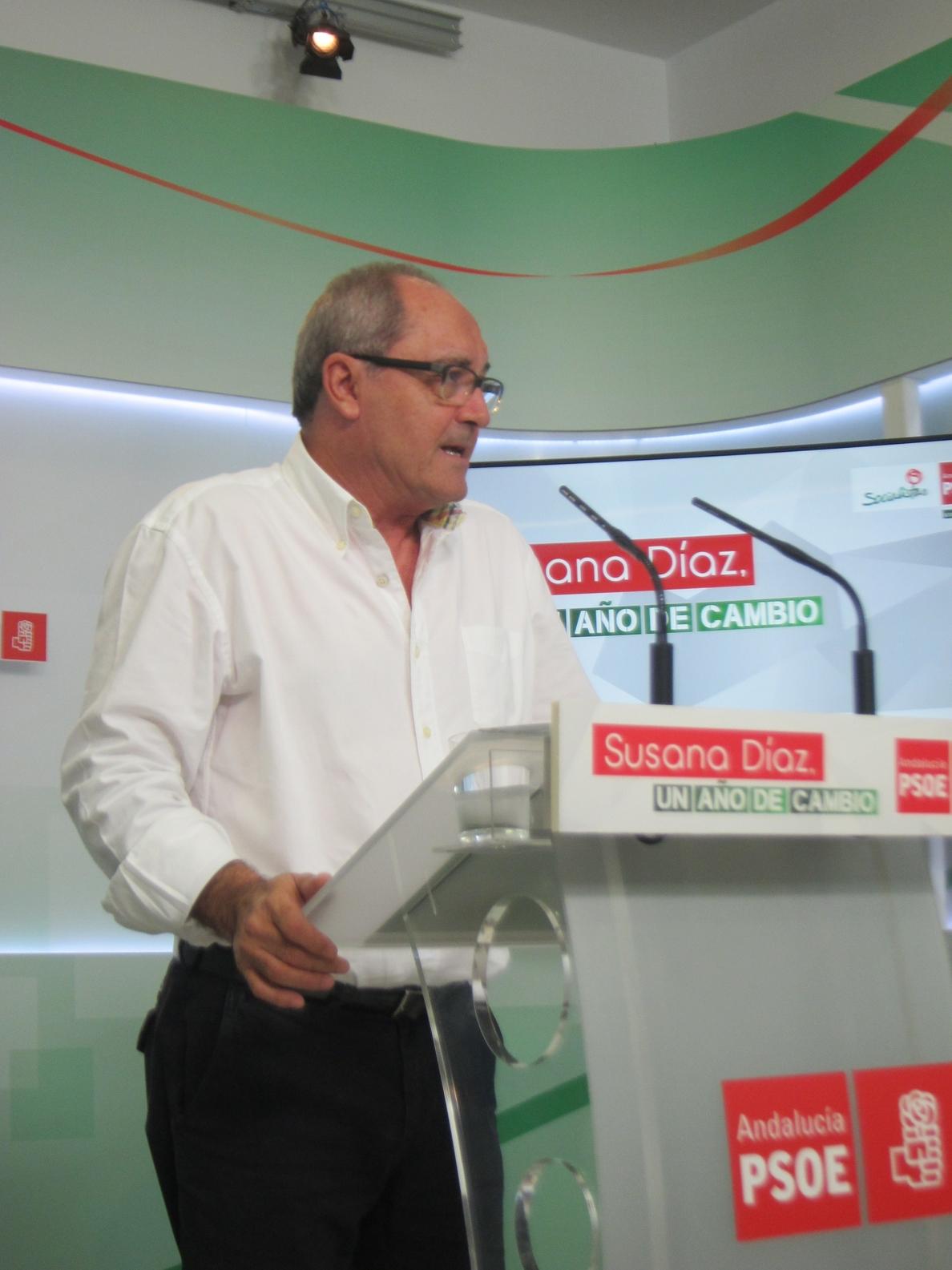 PSOE-A ve «muy avanzada» la negociación del anteproyecto de ley de banca pública, «que tendrá ficha bancaria»