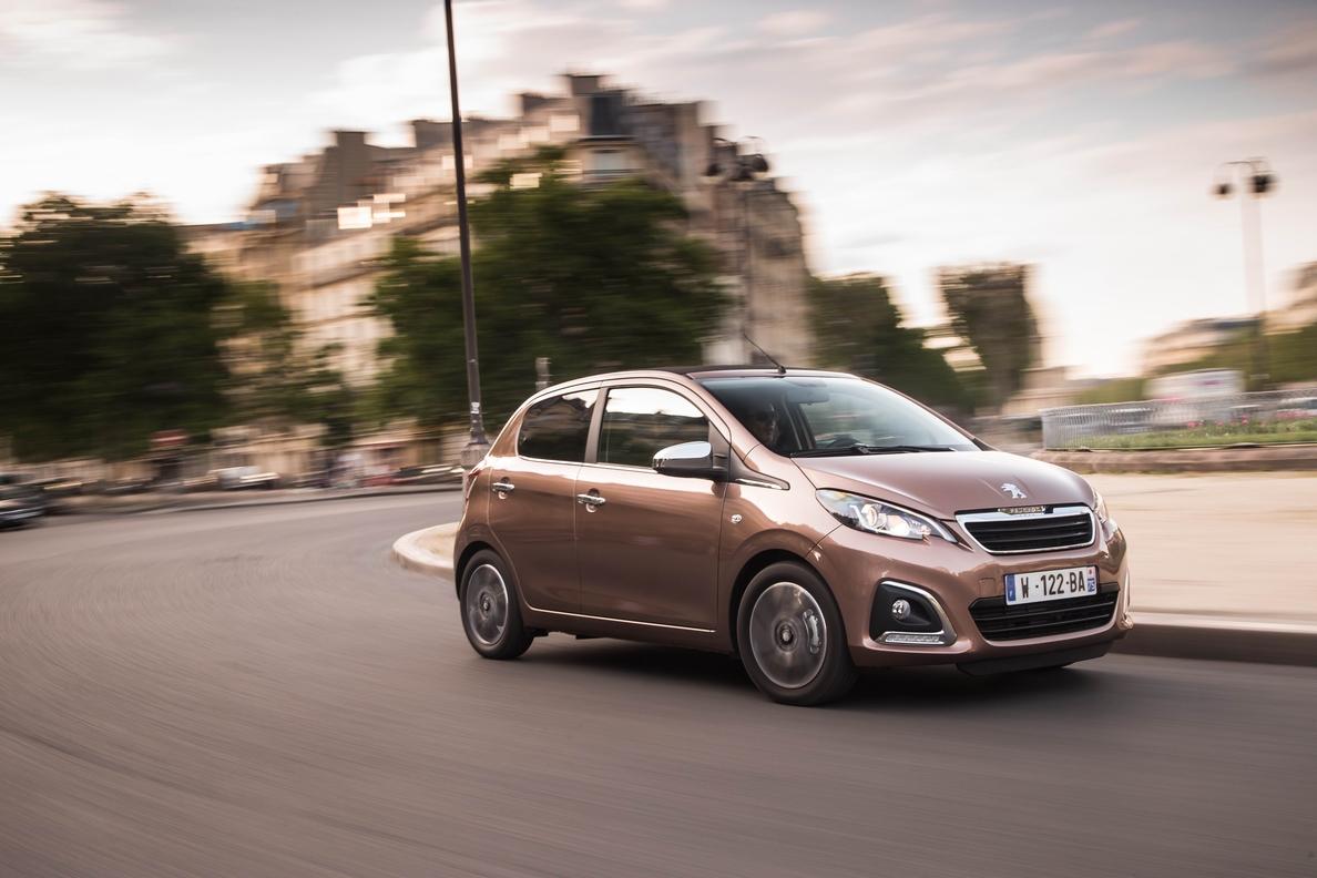 Peugeot pone a la venta en España el urbano 108