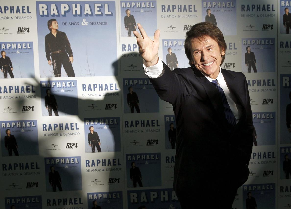 Raphael dice que «para él todos los días son el primero y puede que sean el último»