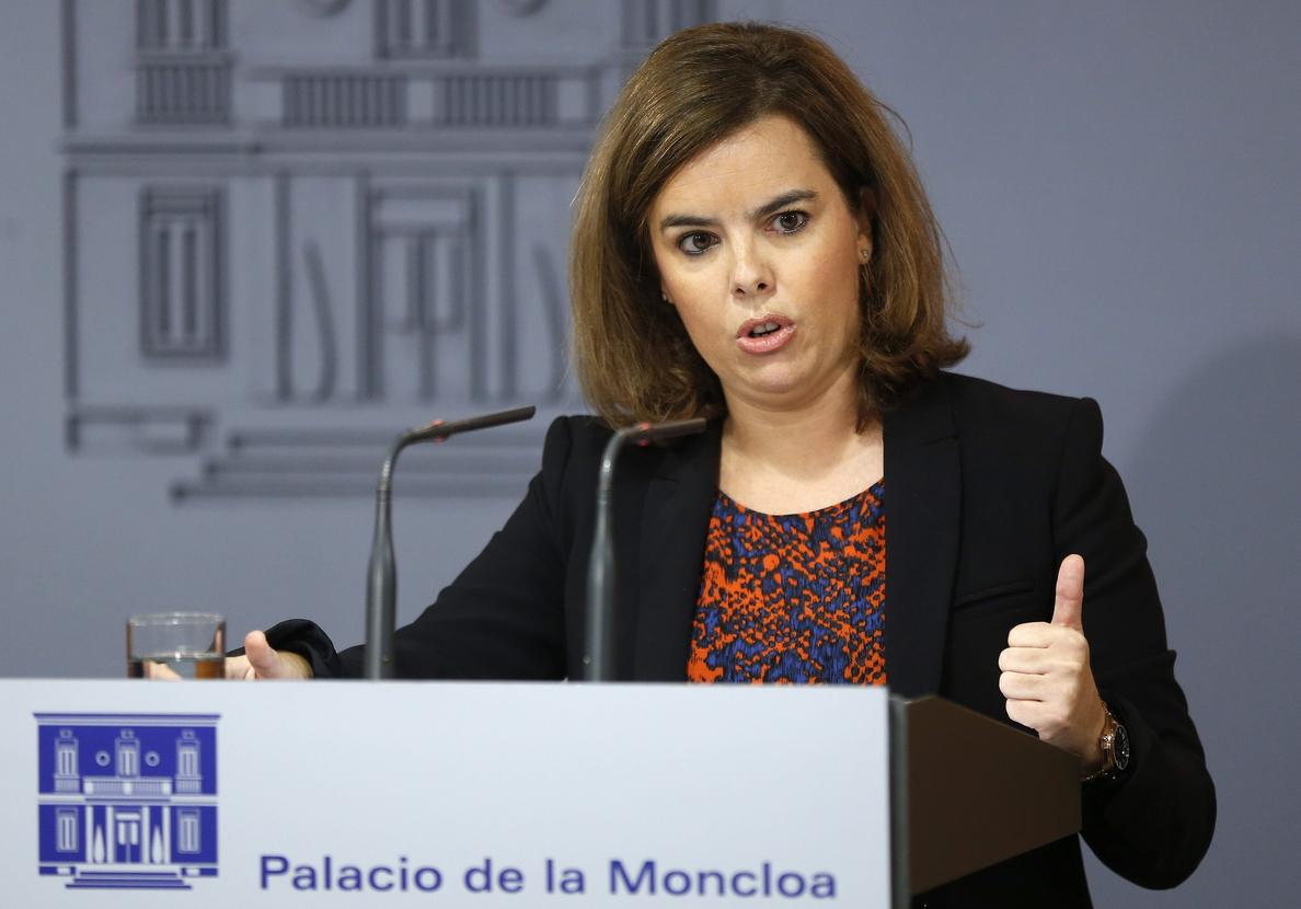S.Santamaría reivindica el diálogo «leal y sensato», el reconocimiento y el respeto