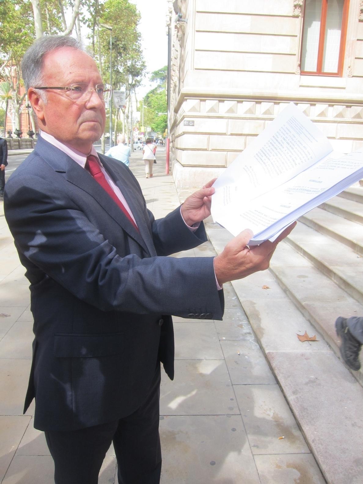 El TSJC pide a Fiscalía pronunciarse sobre la querella de Manos Limpias a Mas