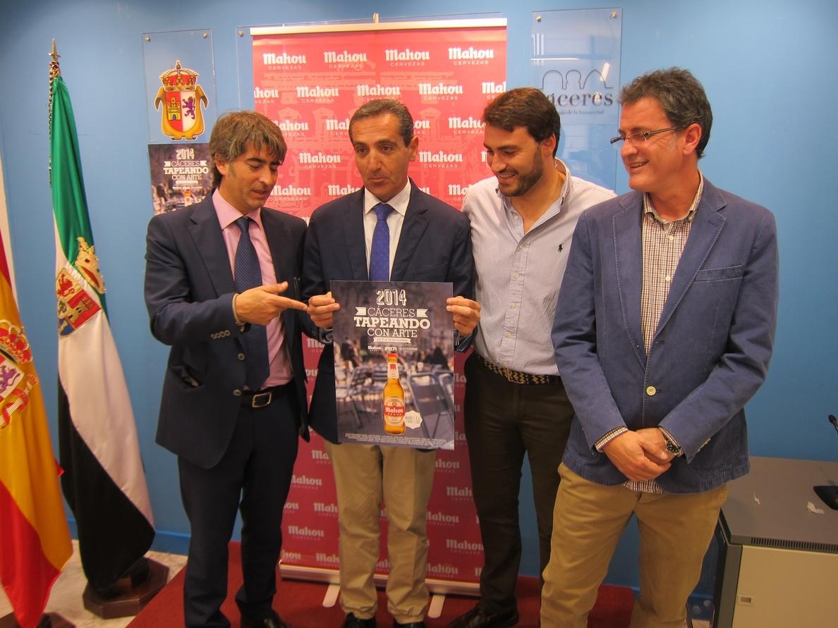 Un total de 23 establecimientos de Cáceres participa en la tercera edición de »Tapeando con Arte»