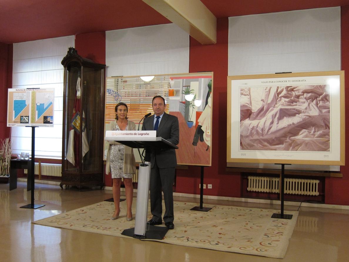 La nueva sala de exposiciones del Ayuntamiento albergará a partir de primavera la mitad de la Colección Altadis de Artes