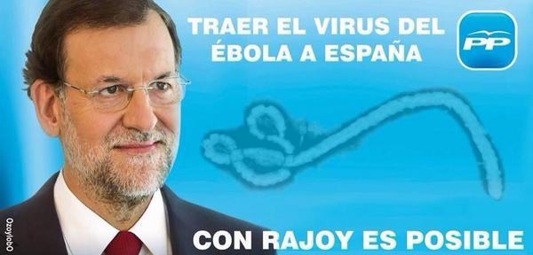 Humor negro Marca España: Twitter bromea hasta con el primer caso del Ébola