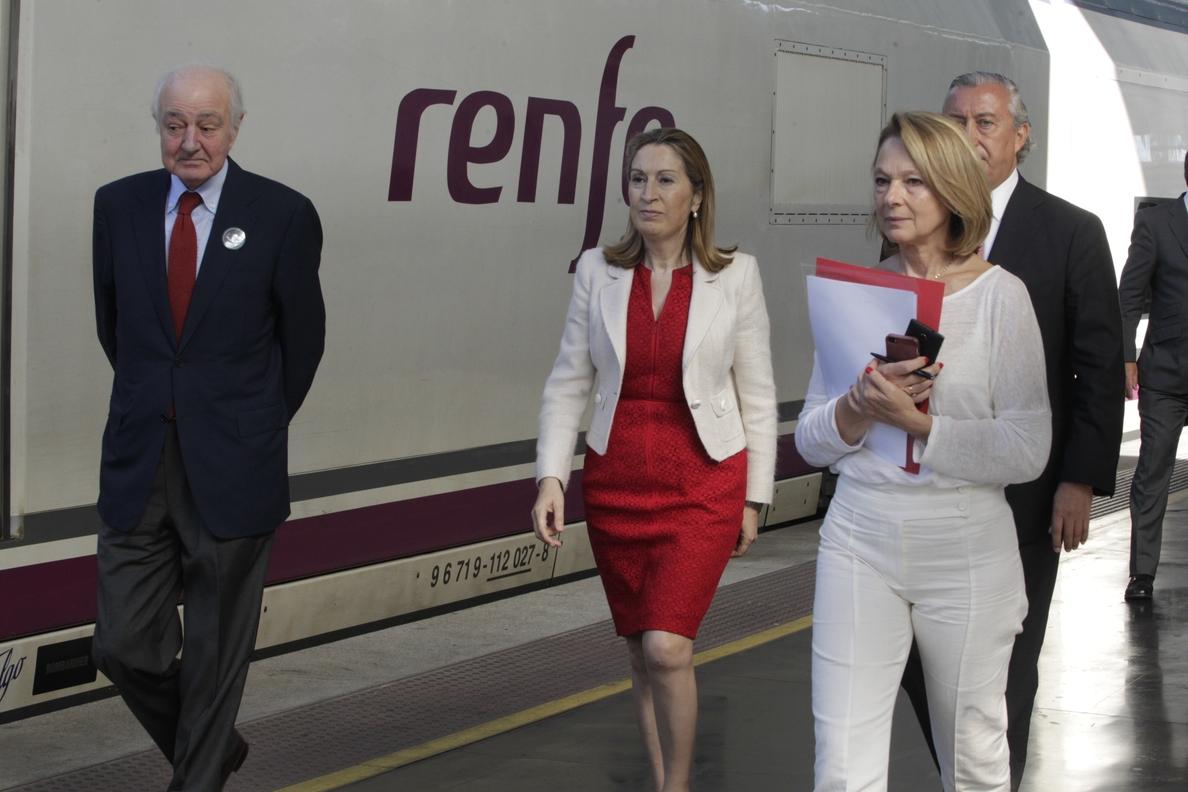 El AVE de Renfe prevé cerrar 2014 con un récord histórico de 28 millones de pasajeros