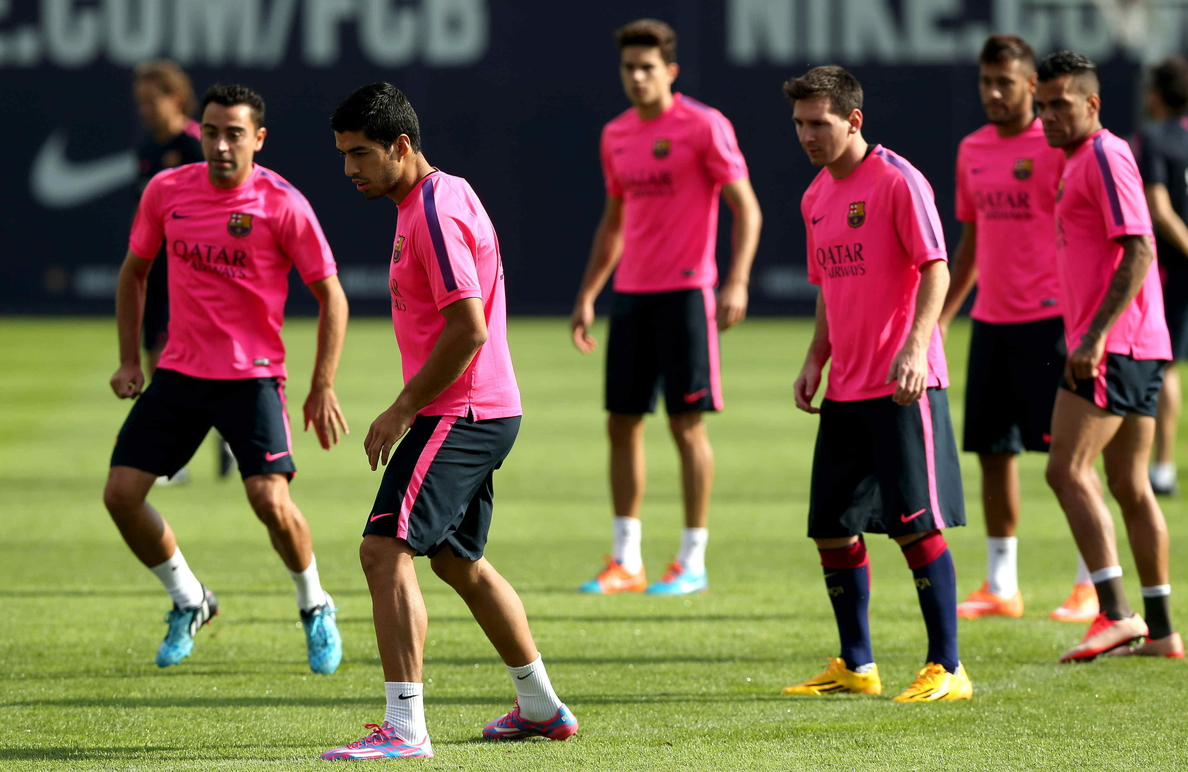 El Barça vuelve al trabajo bajo mínimos