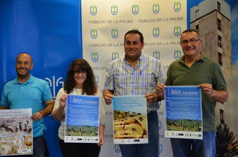 El Cabildo organiza una campaña para promocionar el queso de La Palma