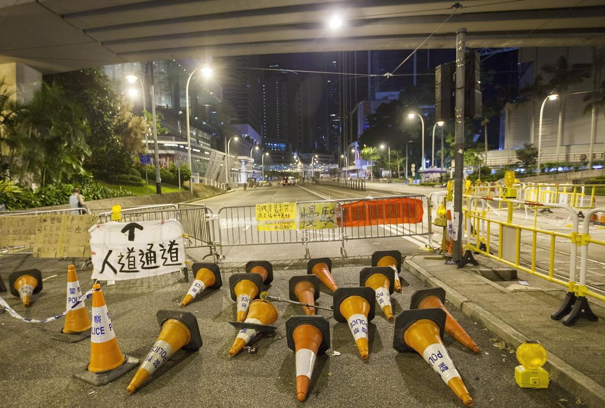 Representantes de los manifestantes acuerdan abrir conversaciones formales con el Gobierno de Hong Kong