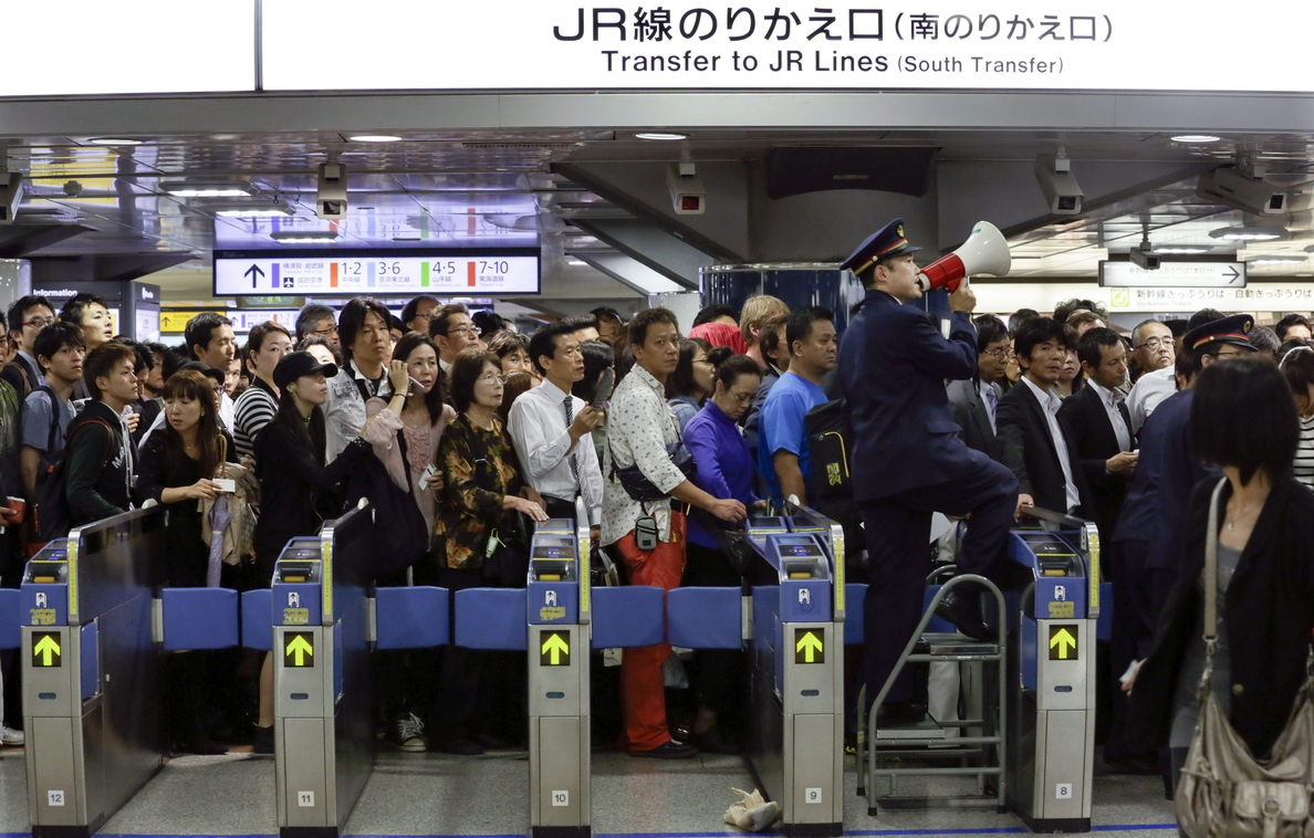 Elevan a 4 el número de fallecidos en Japón por el tifón Phanfone