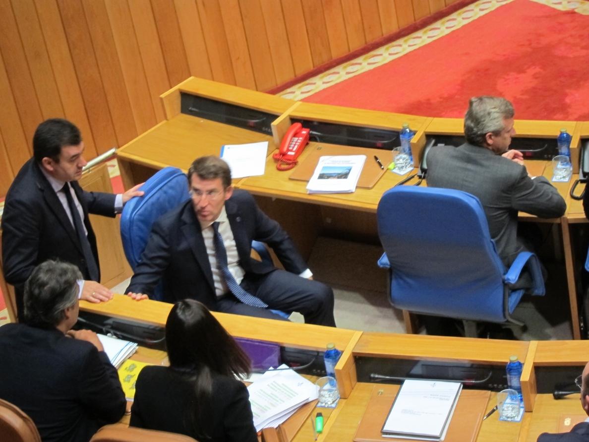 Feijóo señala que Galicia es la única con «terrorismo activo» y finaliza su discurso con una llamada al diálogo