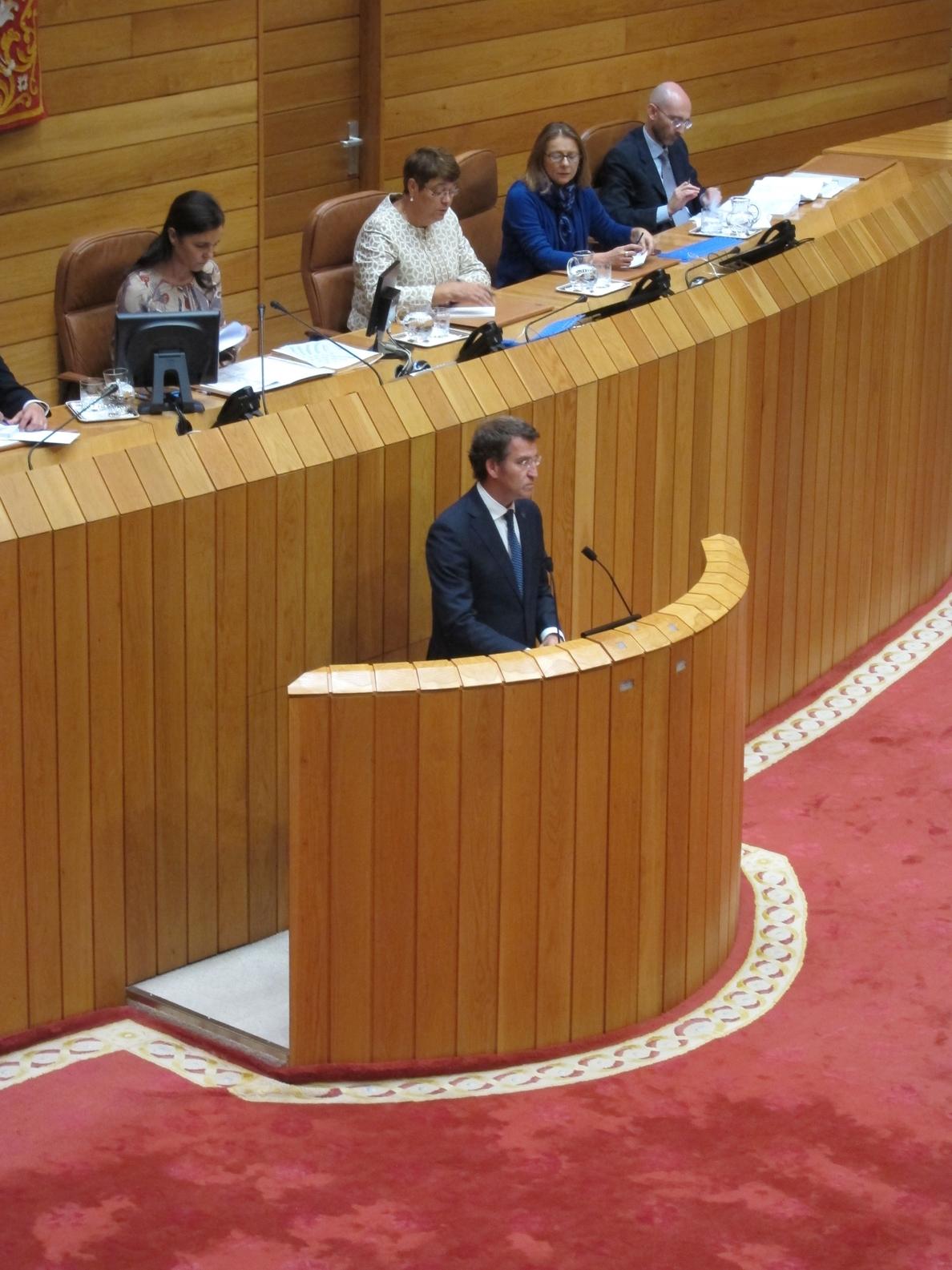 Feijóo anuncia «la mayor ayuda a la natalidad» de España con deducciones fiscales a partir de 2015