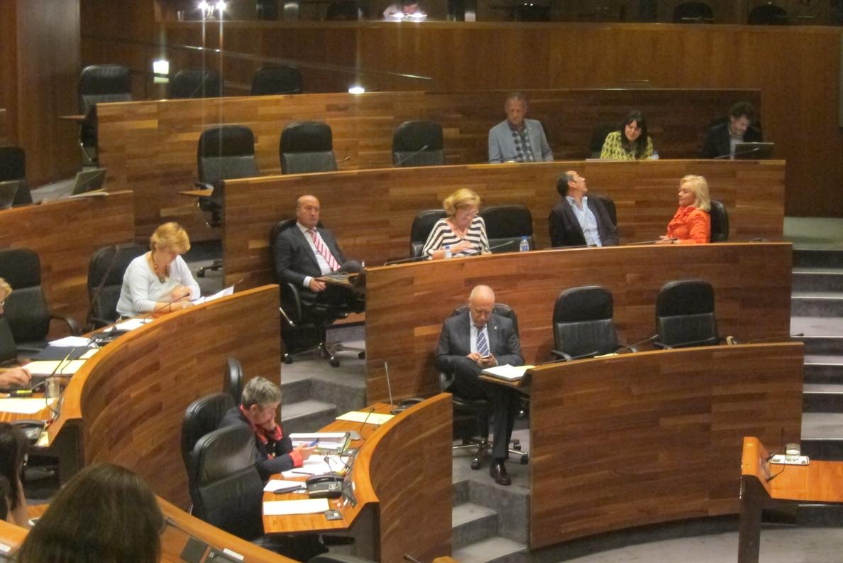 El Gobierno regional responderá en el pleno del jueves sobre FP, el Aeropuerto de Asturias y pesca