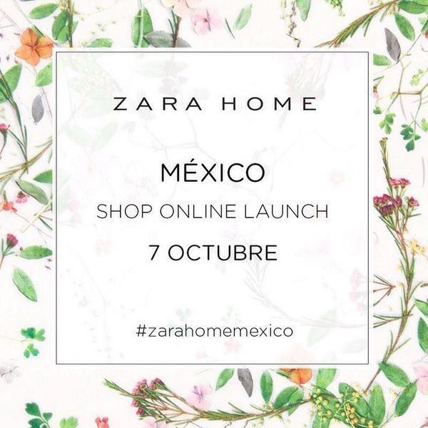 Inditex potencia su presencia en México con las tiendas »online» de Zara Home y Berskha