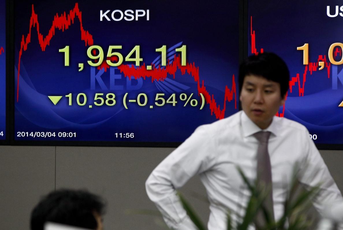 El Kospi surcoreano sube un 0,57 por ciento hasta los 1.979,53 puntos