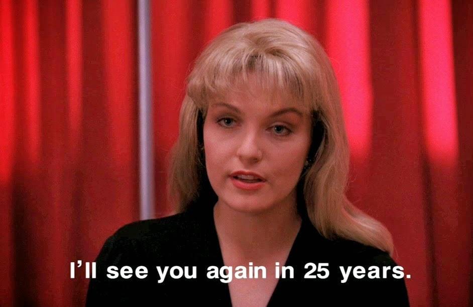 Laura Palmer ya anunció el regreso de Twin Peaks… hace 25 años