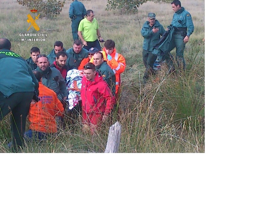 Localizada, con heridas superficiales e hipotermia, la inglesa desaparecida el domingo en Osorno (Palencia)
