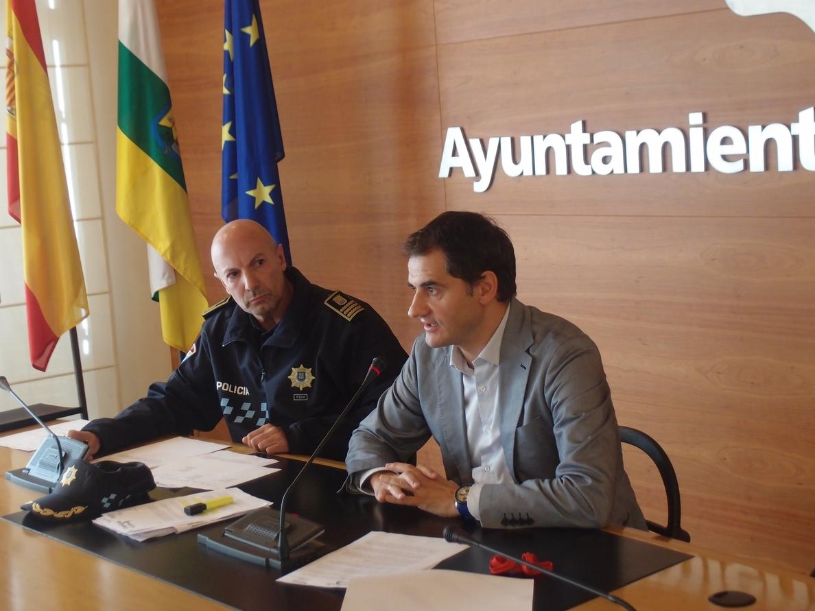 Logroño cuenta con un operativo especial contra la doble fila en «zonas saturadas» tras las fiestas de San Mateo