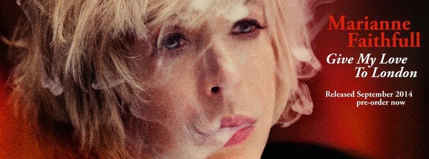 Marianne Faithfull actuará en Barcelona y Madrid en diciembre