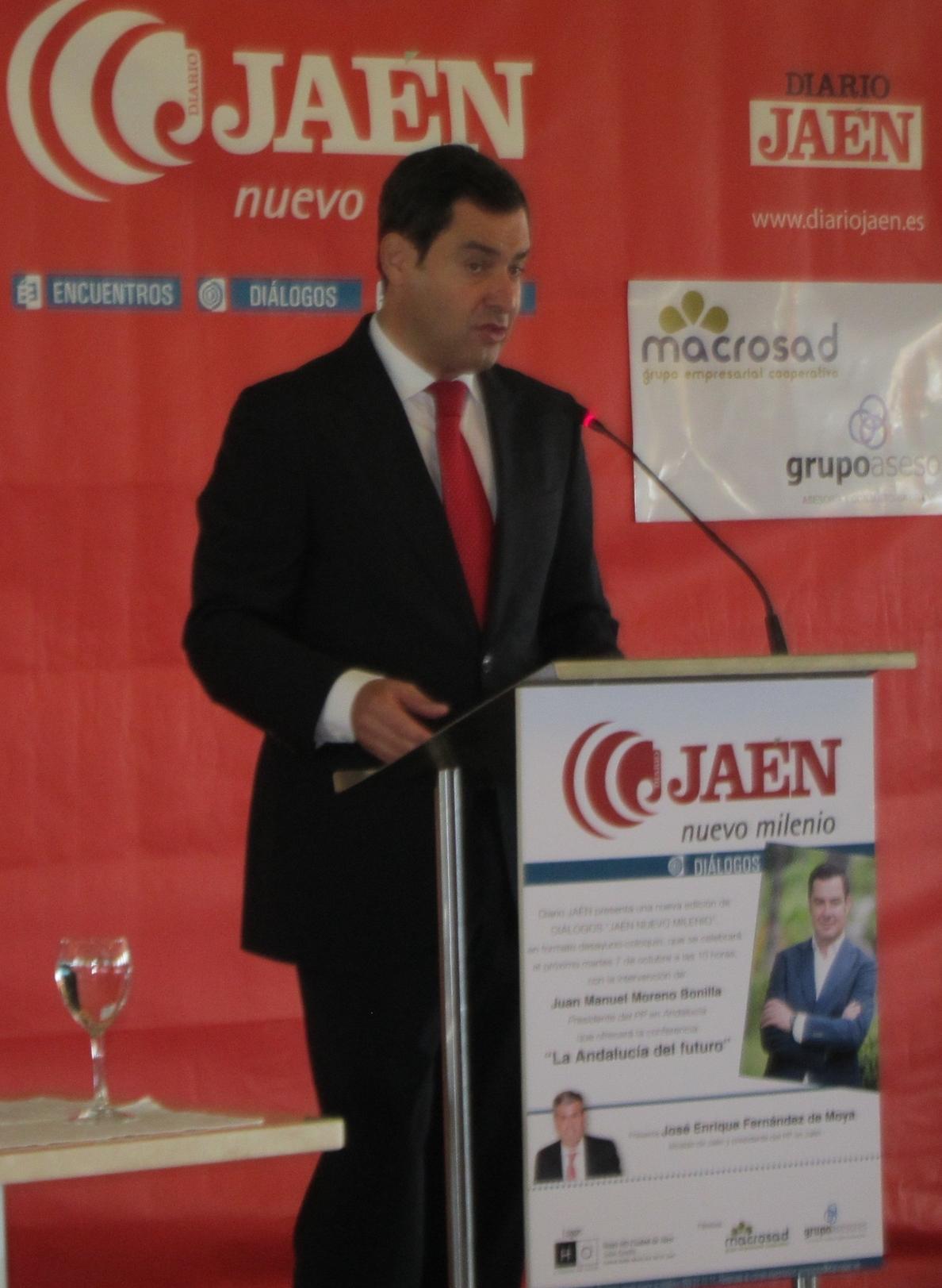 Moreno (PP-A) rechaza que se busque «rédito político» de la «crisis»