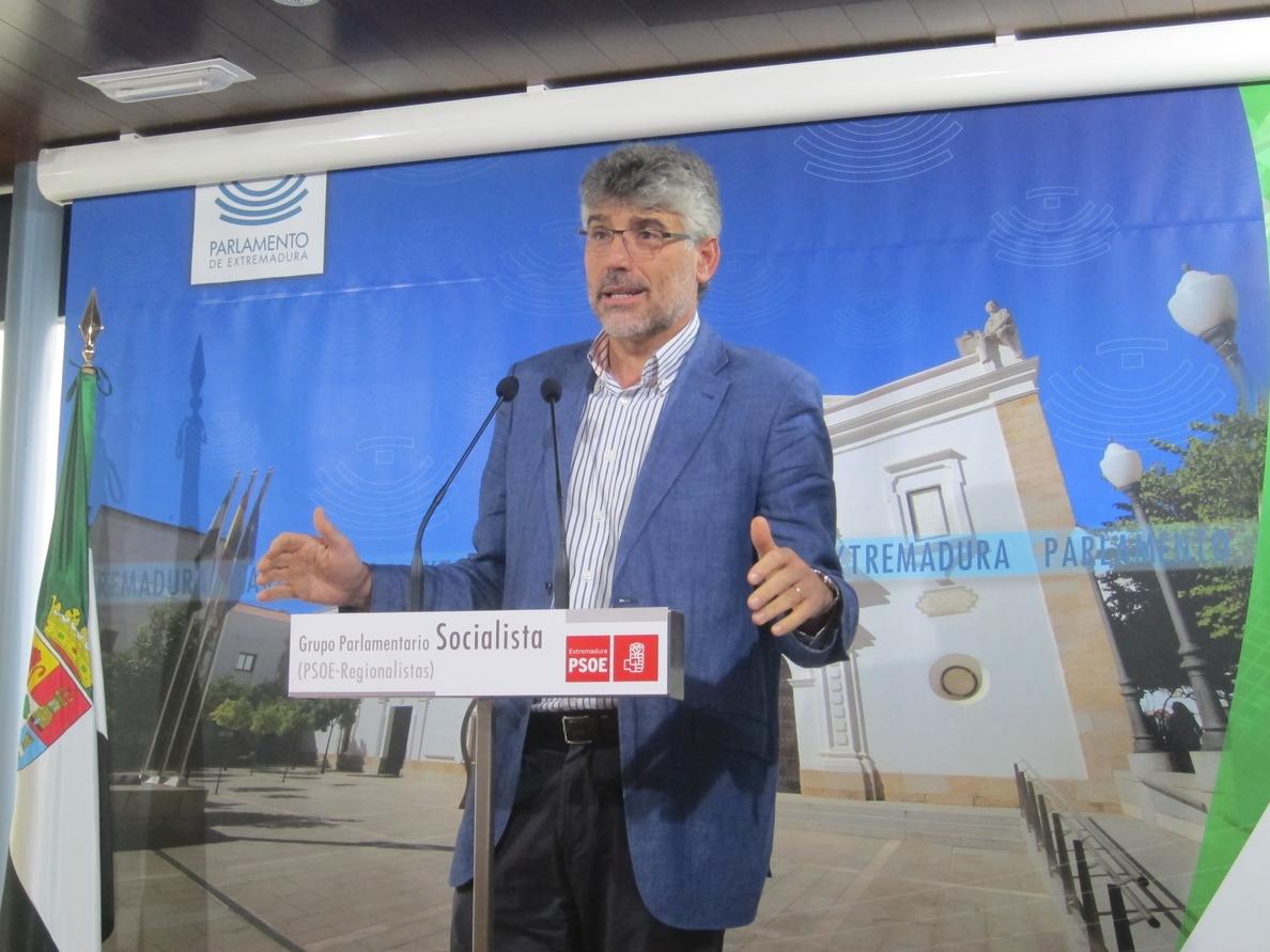 El PSOE augura «propaganda, demagogia» y «publicidad» por parte del Ejecutivo regional en su reunión de Don Benito