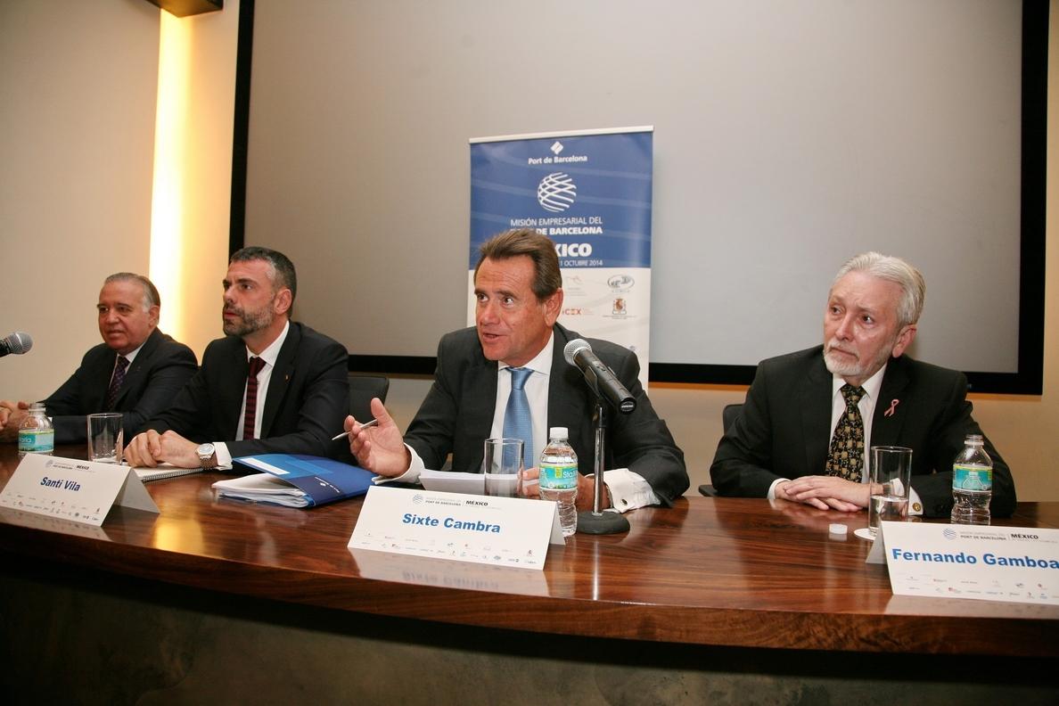 El Puerto de Barcelona quiere ser el socio de México en Europa y el Mediterráneo
