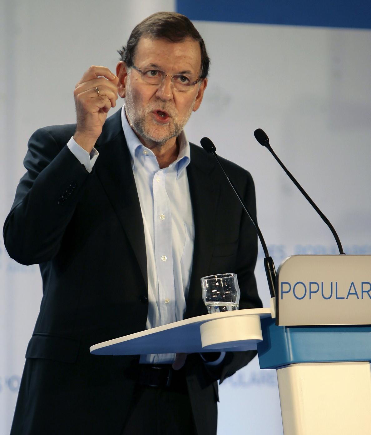 Rajoy defenderá en Milán que la UE no baje la guardia contra el desempleo