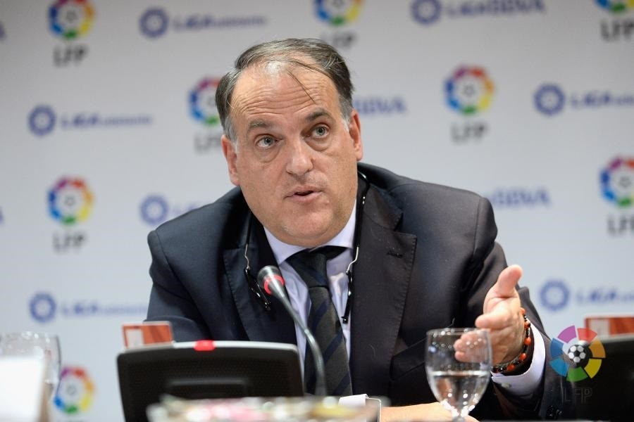 Tebas: «No sé si el fútbol español está preparado para que un jugador vaya a la cárcel»