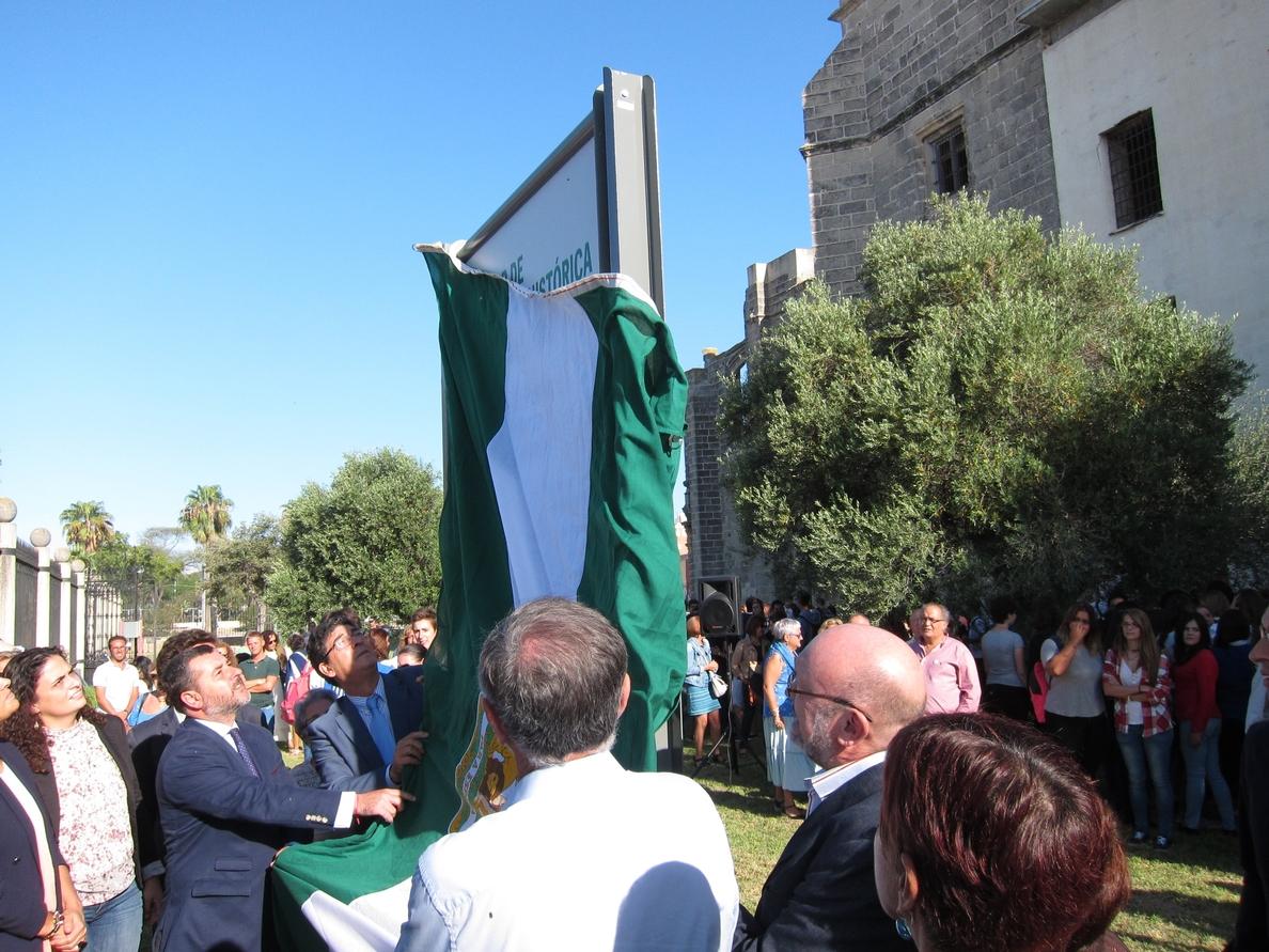 Valderas participa en la señalización del antiguo penal de El Puerto como Lugar de Memoria