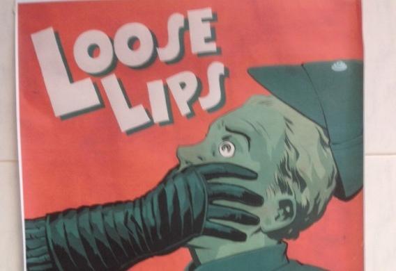 El cartel anti-spoilers de Star Wars VII: ¡Cierra la boca!