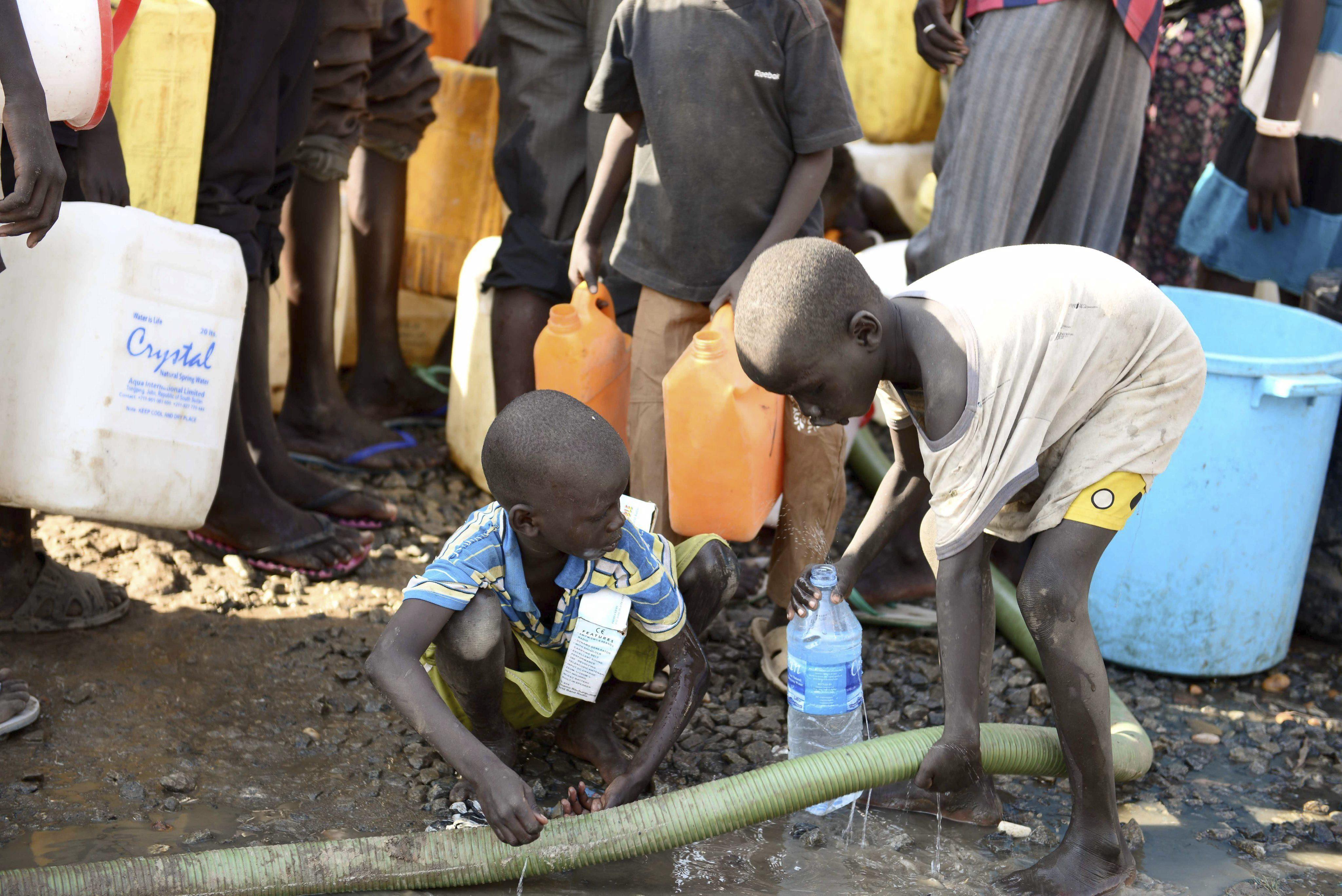 El hambre mata más gente que el ébola