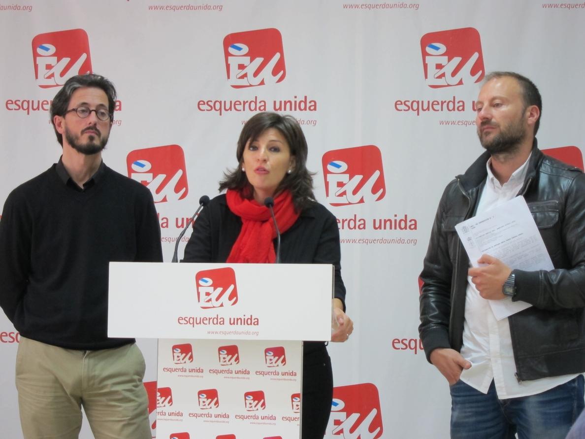 (AM) Esquerda Unida pide la imputación de Barreiro tras declarar Iravedra que carreteó ancianos por mandato del PP