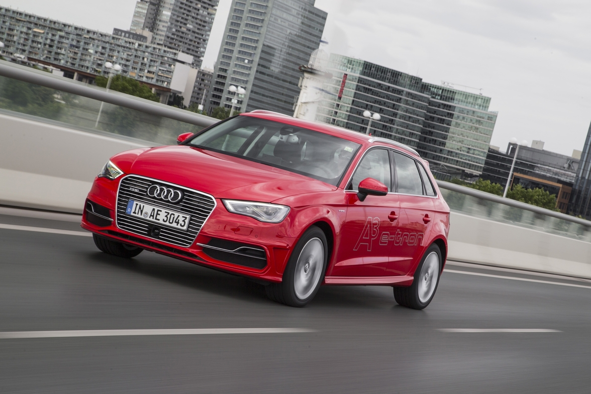 Audi abrirá un espacio temporal para exhibir el A3 Sportback e-tron
