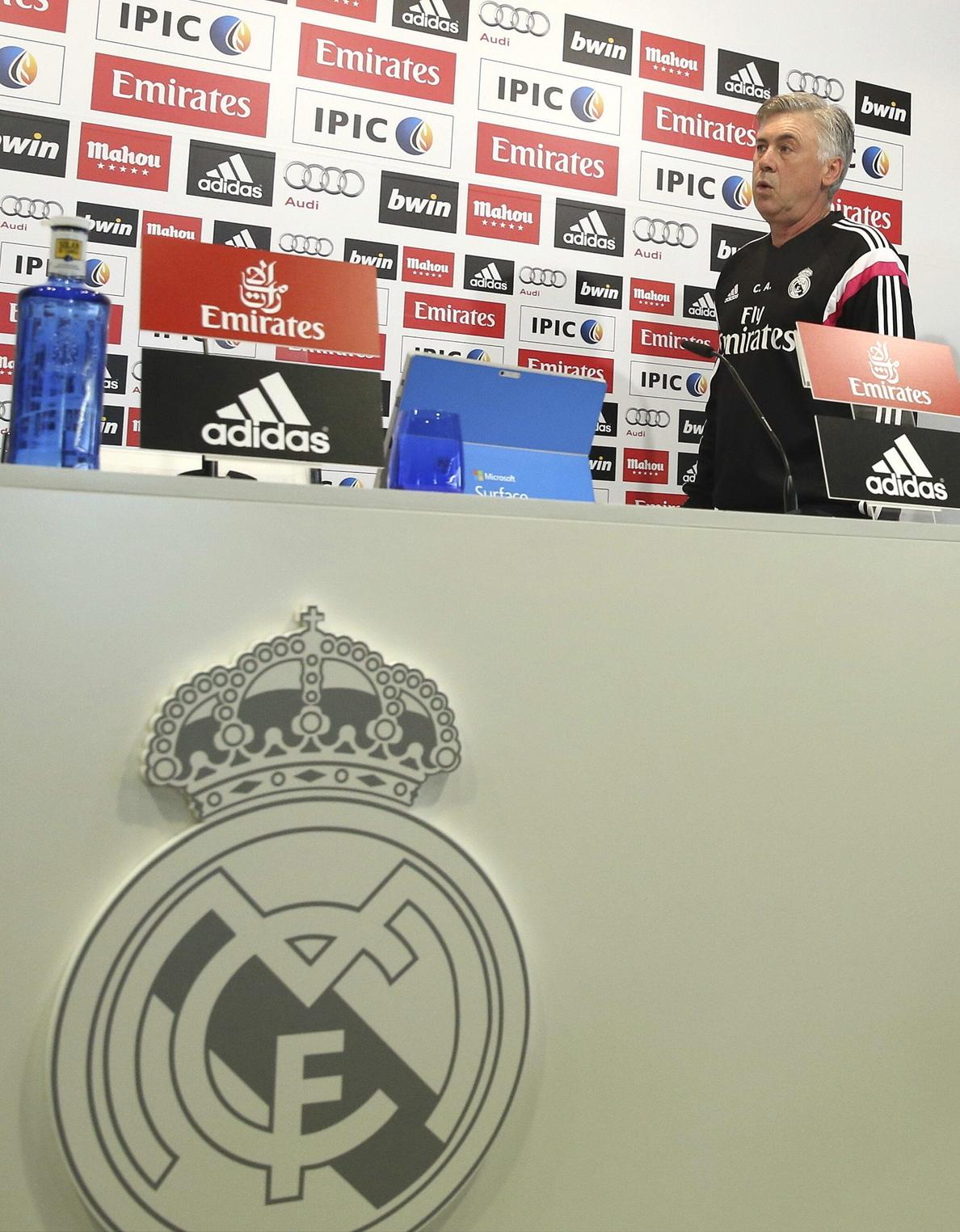Ancelotti: «Ninguno se enfada cuando juega Bale»