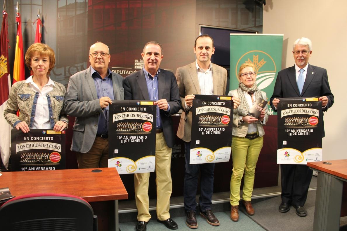 »Los Chicos del Coro» visitarán la provincia de Albacete gracias al programa musical »Una Caja de Música»