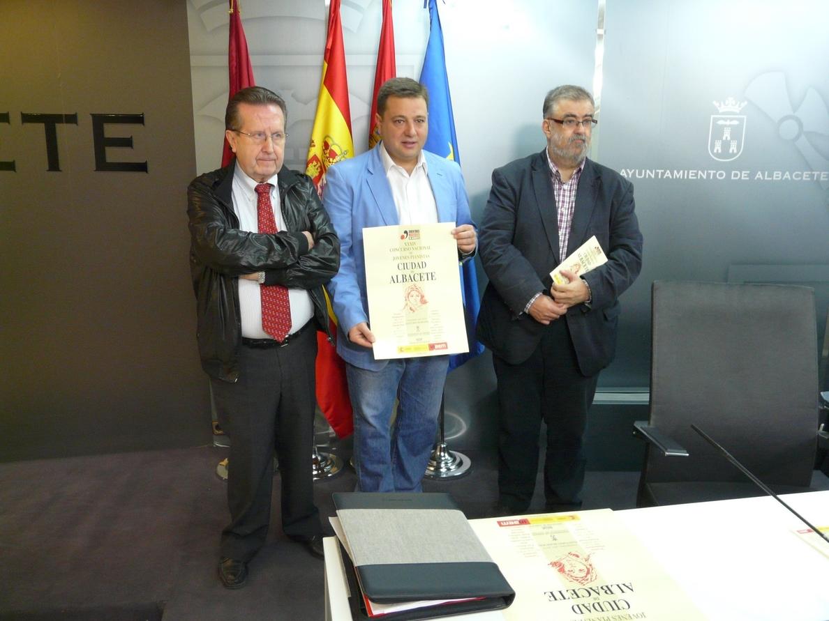 El Concurso Nacional de Jóvenes Pianistas »Ciudad de Albacete» incluye como novedad este año dos días más de música