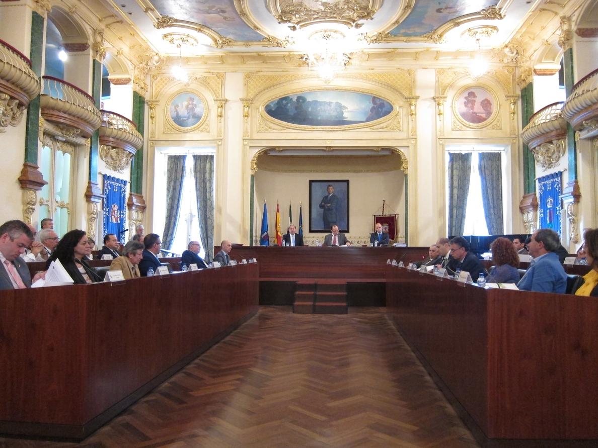 El pleno de la Diputación de Badajoz aprueba por unanimidad los presupuestos de 2015