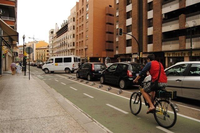 Dueso subraya que «este gobierno es el que más ha apostado» por el uso de la bicicleta
