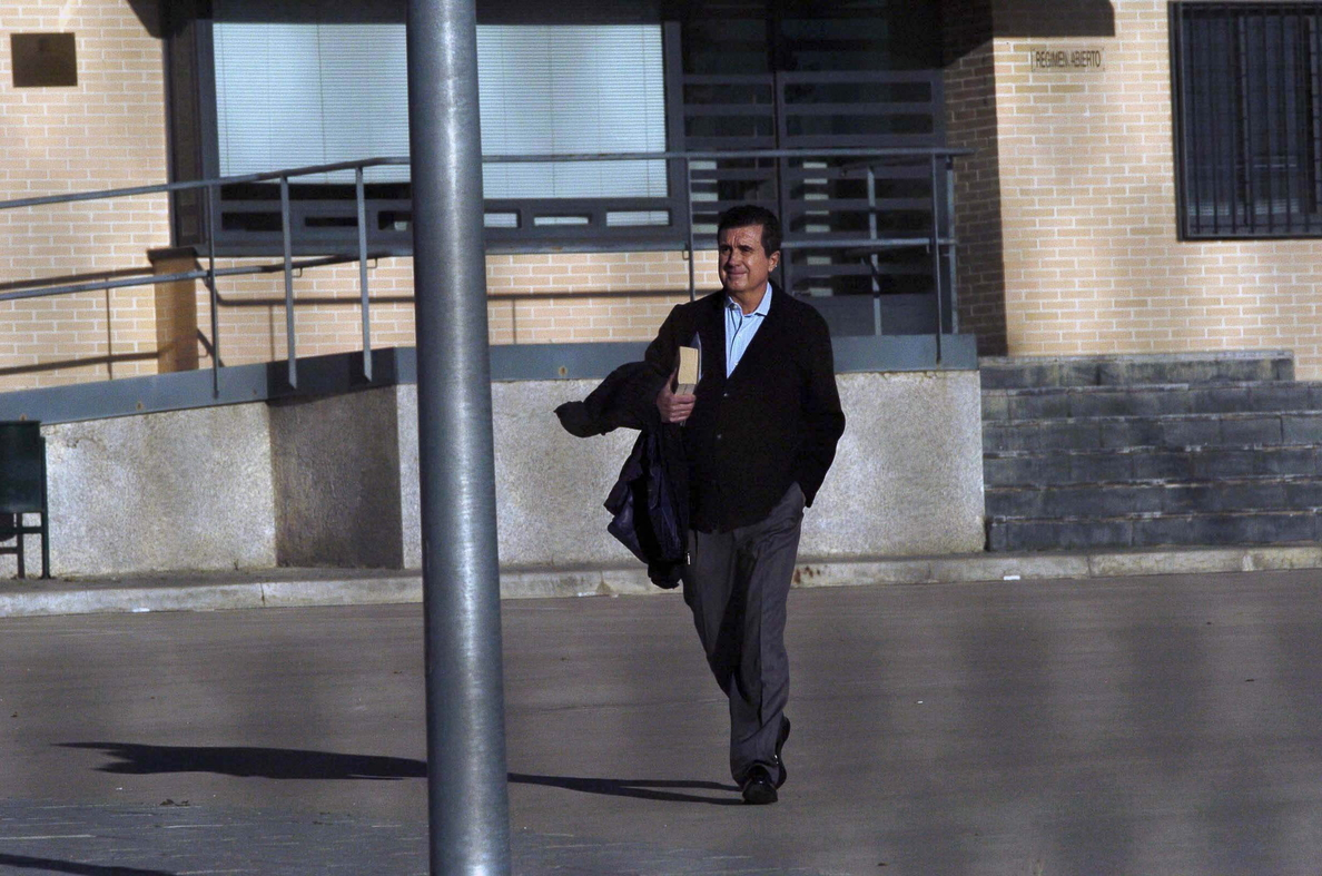 Jaume Matas abandona la cárcel en permiso de fin de semana
