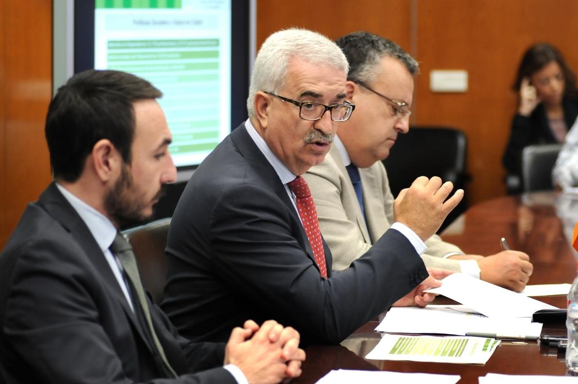 Jiménez Barrios destaca que el presupuesto contempla más de 227 millones para políticas sociales en la provincia